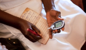 Checking your blood sugar levels regularly will help you know how well you are doing in controlling diabetes.